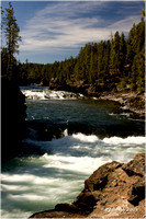 Cascades on the Yellowstone River